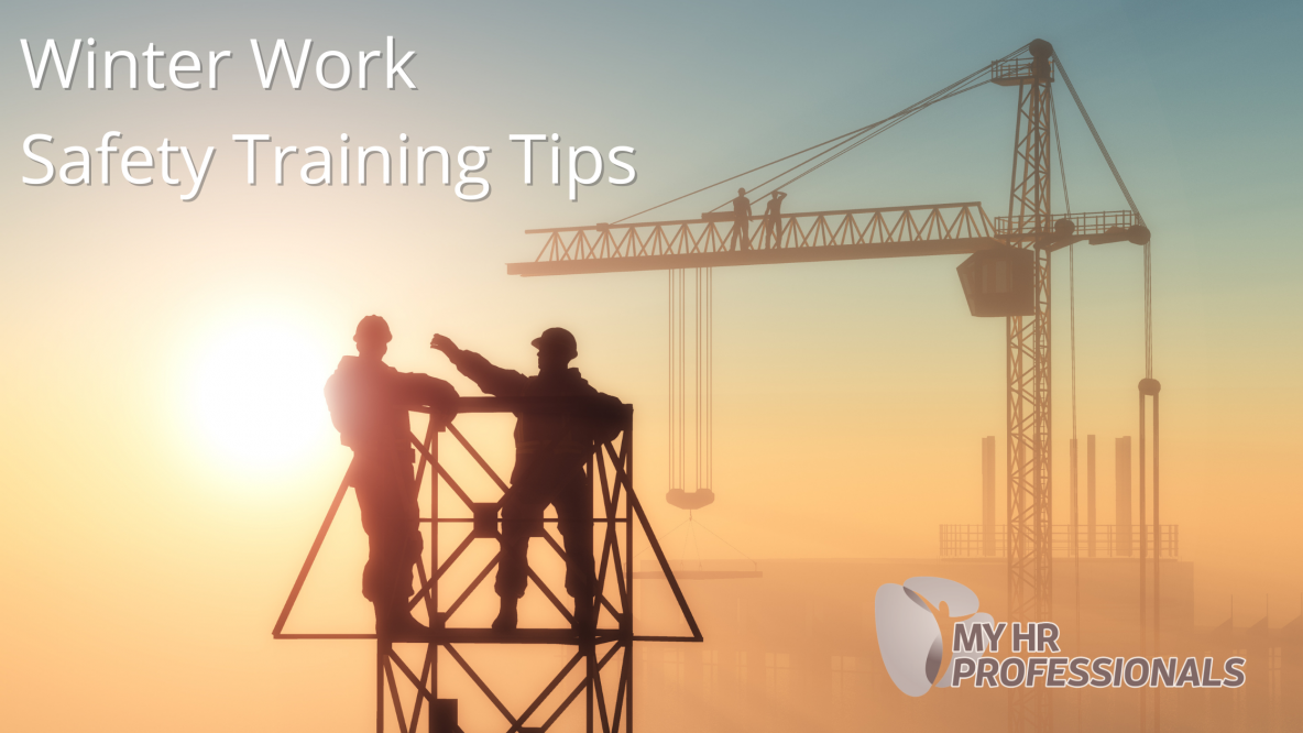 Winter Work Safety Training Tips